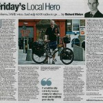 Feature in The Herald
